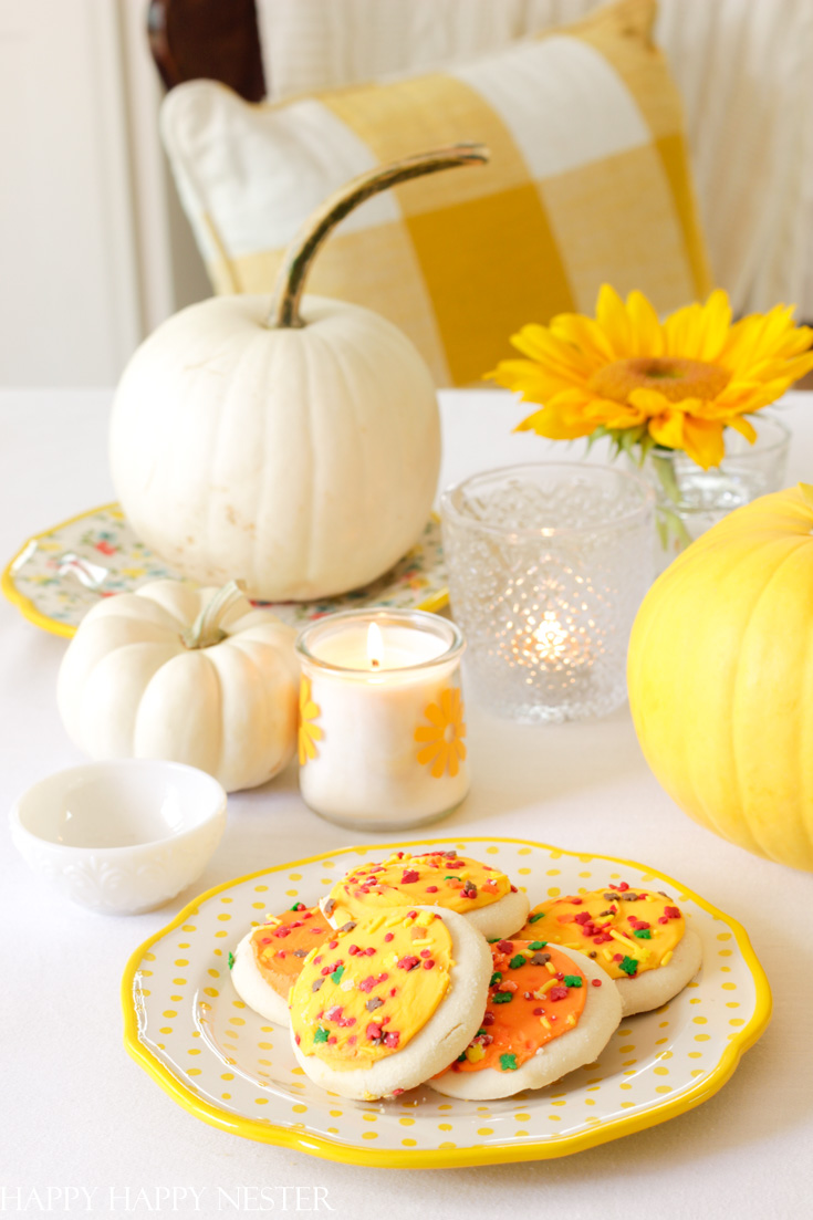 walmart cookies and pioneer home decor plates