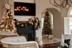 Family Room Christmas Home Tour