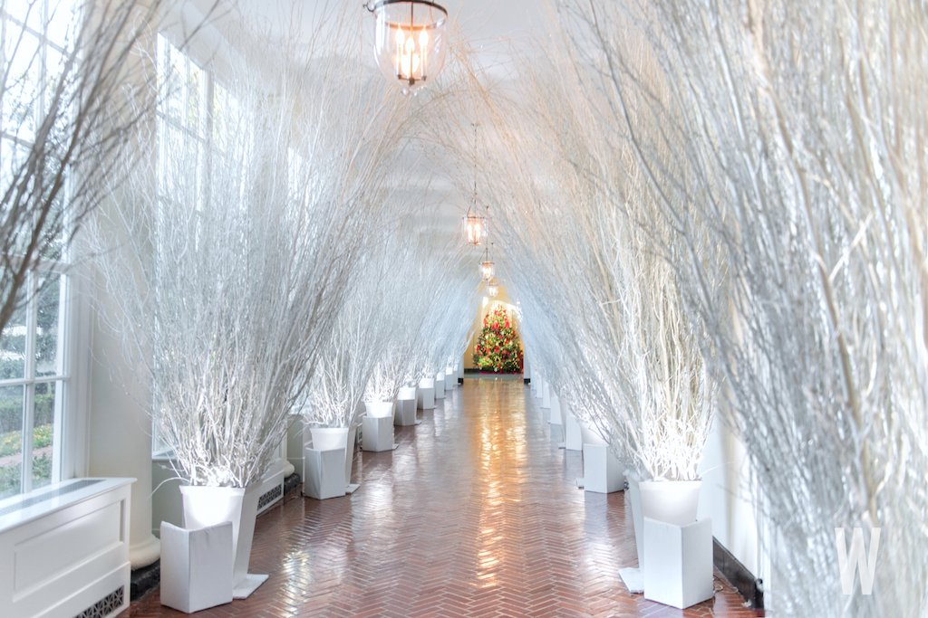 White house christmas tour 2017 happy haute home for White house fall garden tour 2017