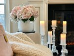 Cozy Winter Home Decor - Slowly Transitioning to Spring