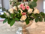 How to Make a Rose and Eucalyptus Floral Arrangement Step by Step Guide