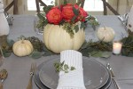 "How to Make a Flower ""Pumpkin"" Centerpiece in 5 Minutes"