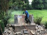 Hardscape Design - Outdoor Fireplace Demolition (Part 2)