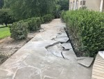 Update on the Flagstone Walkway Restoration Project