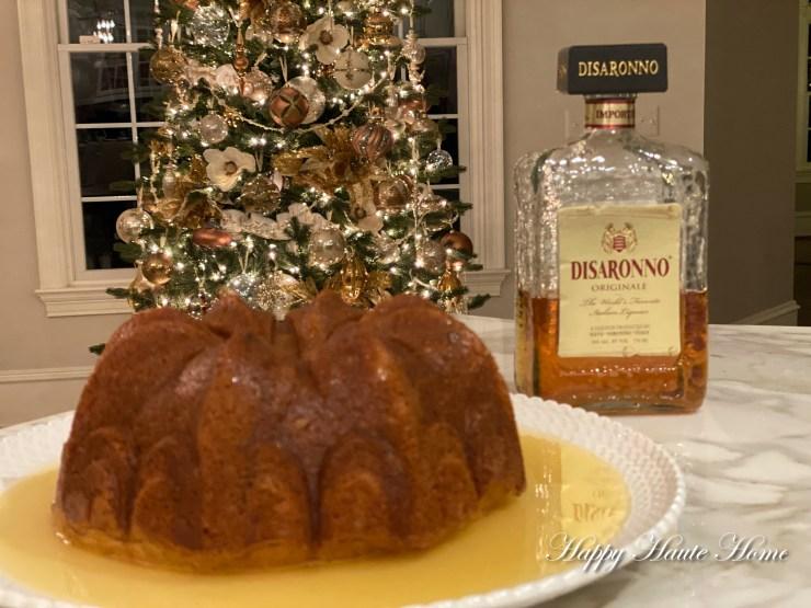 Amaretto Cake-9