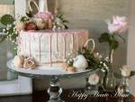 How to Make a Pink (White Chocolate) Ganache Drip Cake