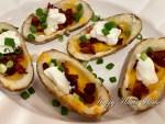 Loaded Baked Potato Skins Recipe