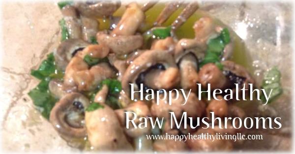 marinated mushroom recipe