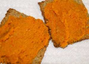 Healthy Carrot Spread