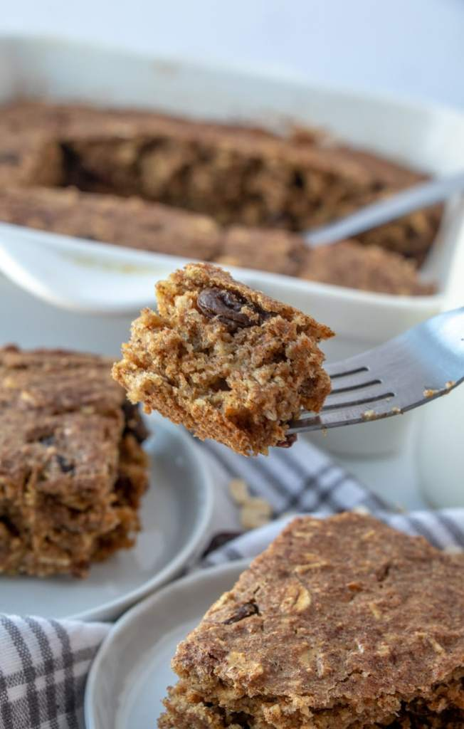 APPLE PEAR SNACK CAKE recipe with a bite