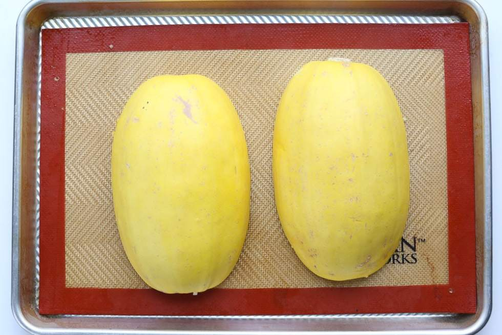 How To Cook Spaghetti Squash in the oven instructions