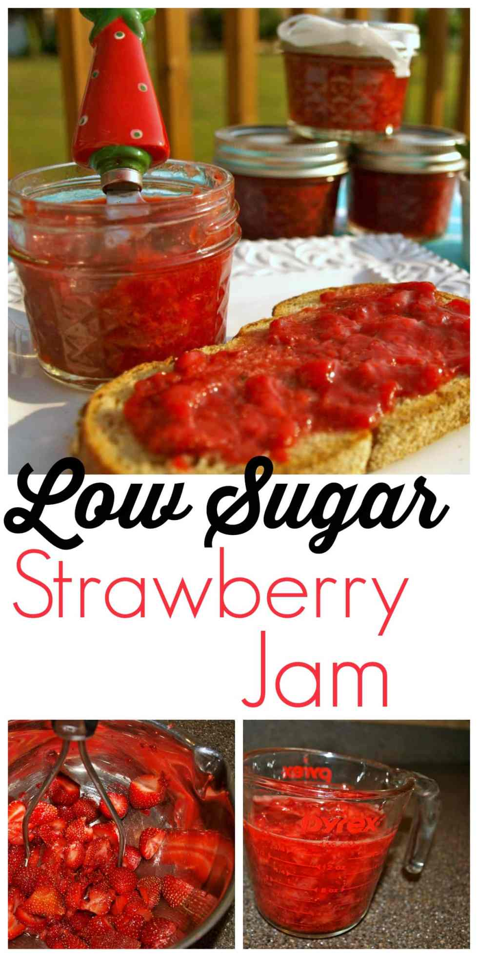 Do you love to make your own jam but hate all the sugar? This is a honey-sweetened strawberry jam that is delicious!