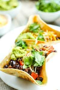 Vegetarian Taco Bowls recipe