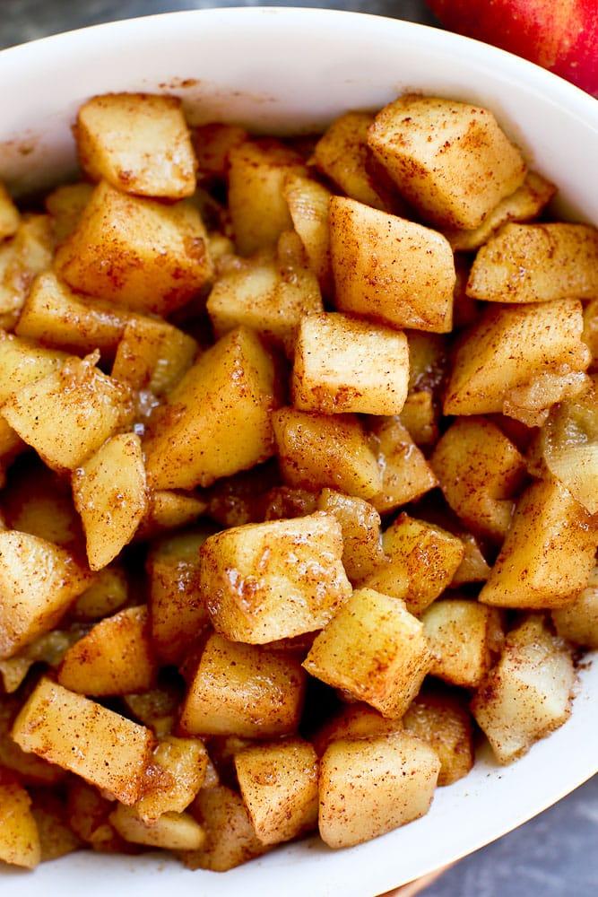 Cinnamon Apple Slices