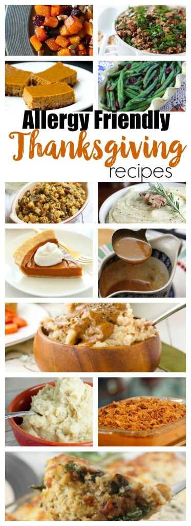 Allergy-friendly Thanksgiving Dishes Recipes #Thanksgivingrecipes #glutenfree #dairyfree #vegan