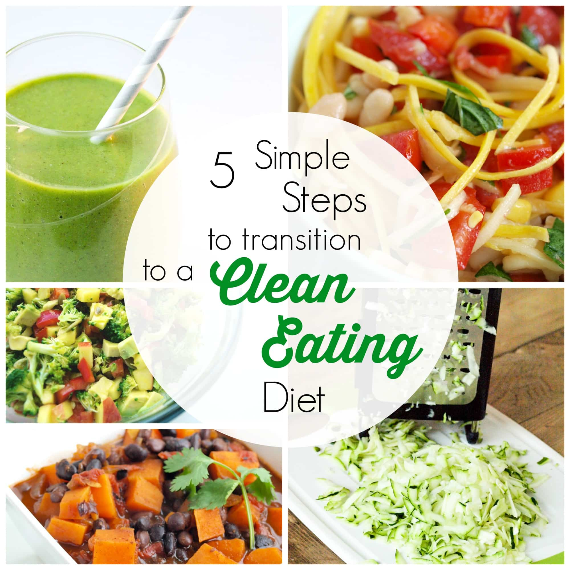 how to transition to a healthy diet