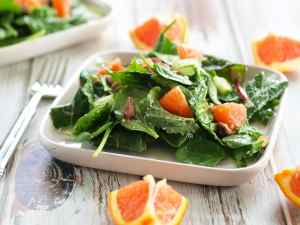 This Power Greens Salad with Cara Cara Orange, Almonds, and Parmesan is anything but boring! Brighten up your winter with this perfect salad.
