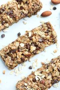 Granola Bars-three in a row