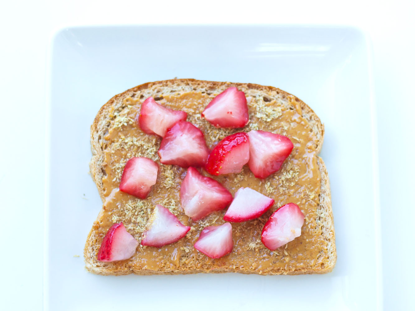 can you lose weight by just eating peanut butter and jelly sandwiches