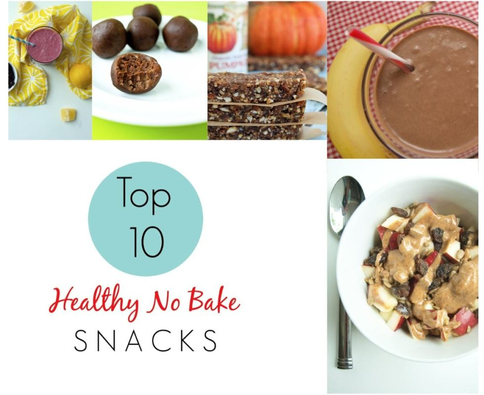 The FREE Ebook from Happy Healthy Mama! Top 10 Healthy, No-Bake Snack Recipes