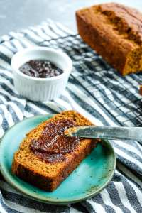 Whole Wheat Molasses Quick Bread