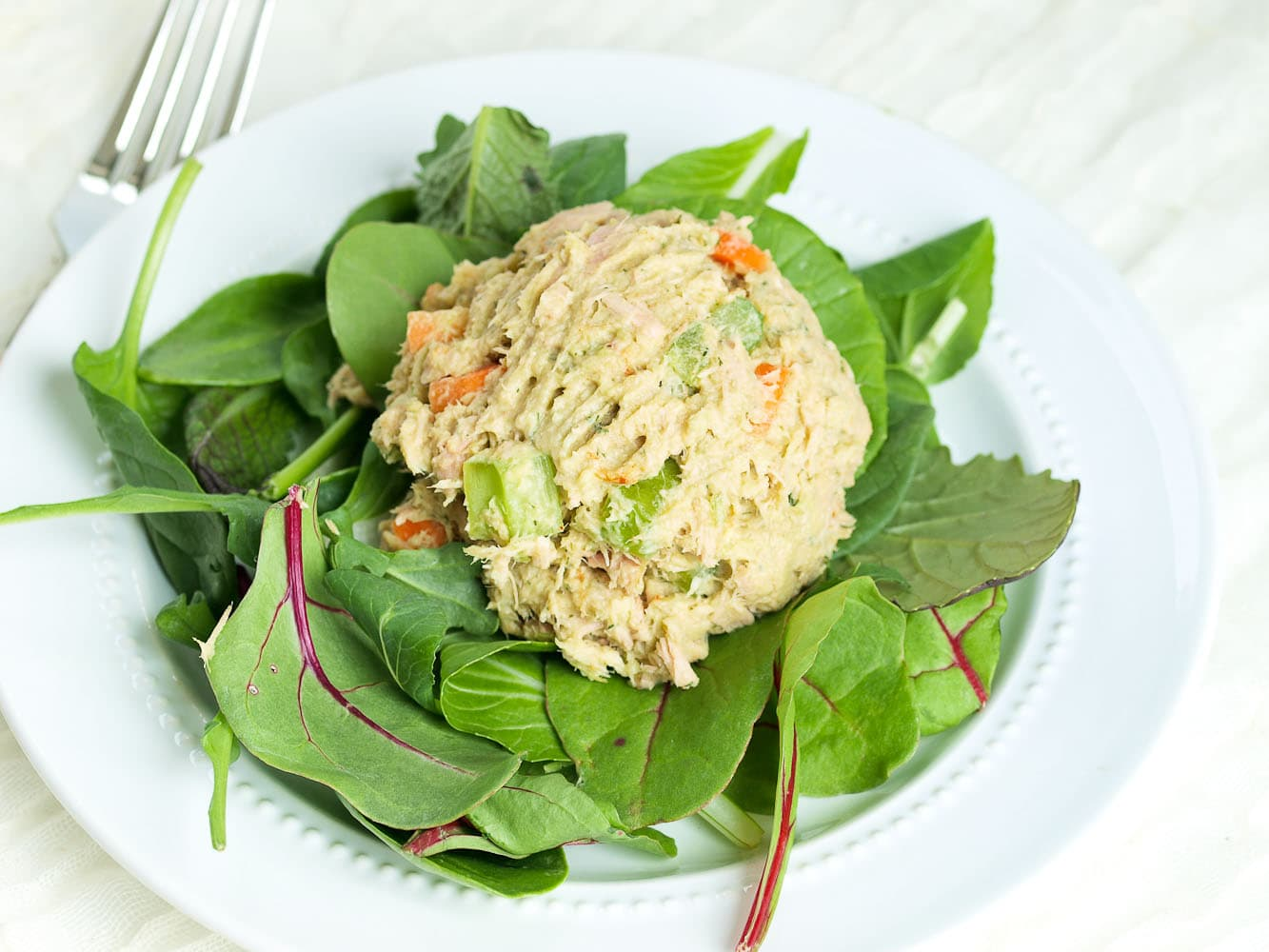 Healthy Tuna Salad Recipe New Video Happy Healthy Mama