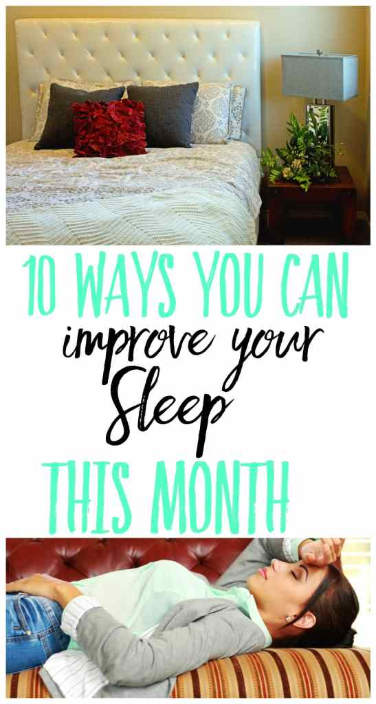 10 Ways You Can Improve your Sleep THIS month