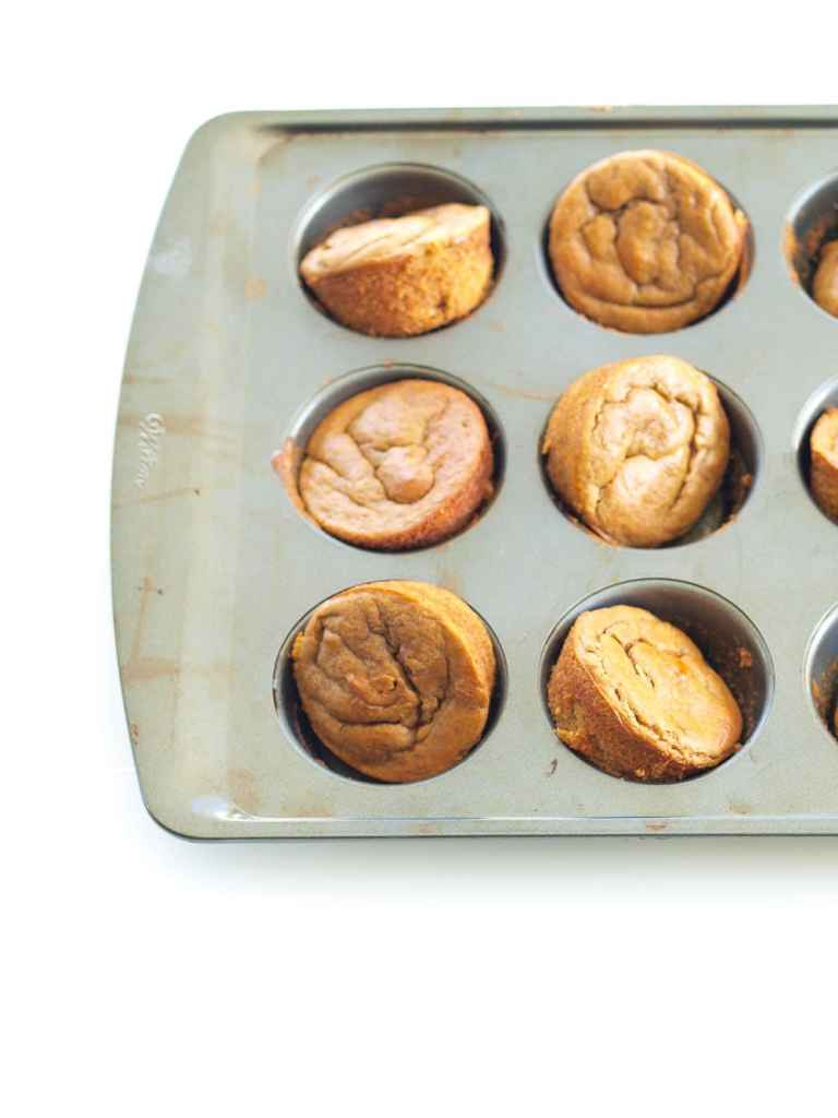 Flourless Sweet Potato Blender Muffin