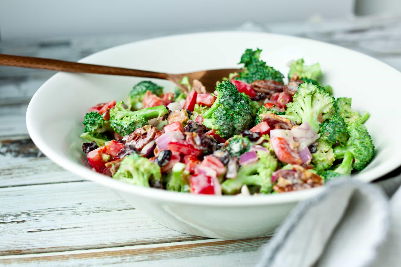 Broccoli Salad Recipe Yogurt