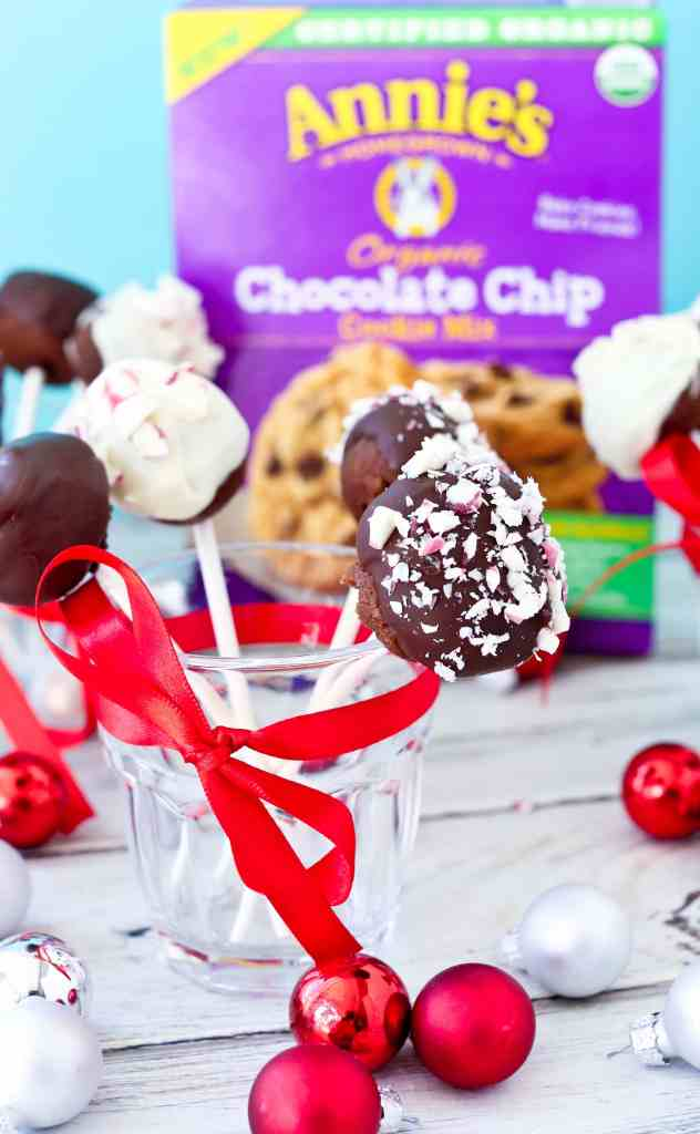 Chocolate Cookie Pops Recipe