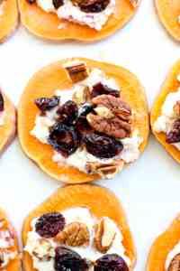 Sweet Potato Toast Appetizer