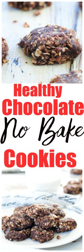 Healthy No-Bake Cookies Recipe. These are an updated, healthier version of the classic no bake cookies. These are low sugar (no refined sugar), gluten-free, and vegan!
