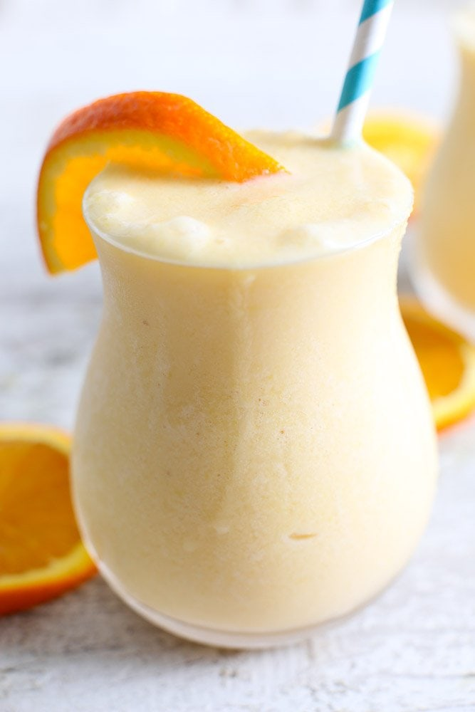 Dairy-Free Orange Creamsicle Smoothie