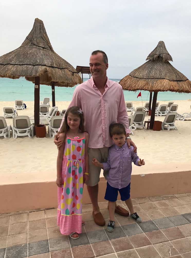 meghan daddy luke club med cancun yucatan