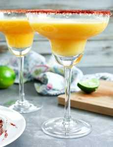 Frozen Mango Margaritas Recipe