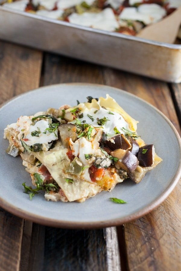 Bell Peppers Recipes: Garden Fresh Vegetable Lasagna