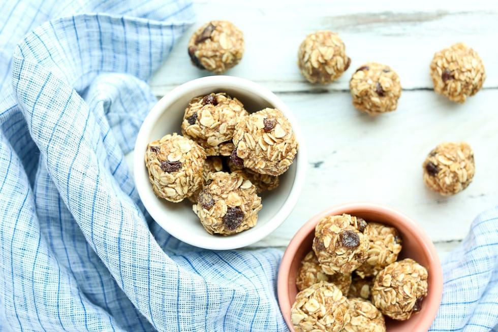 Oatmeal Cookie Energy Balls Recipe