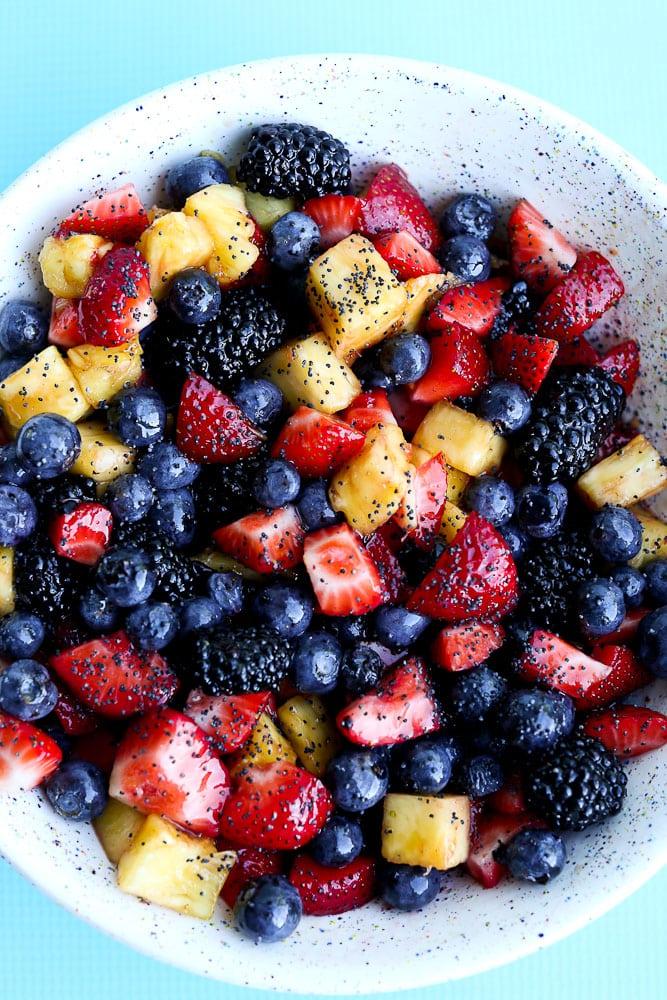 Summer Fruit Salad Recipe Happy Healthy Mama