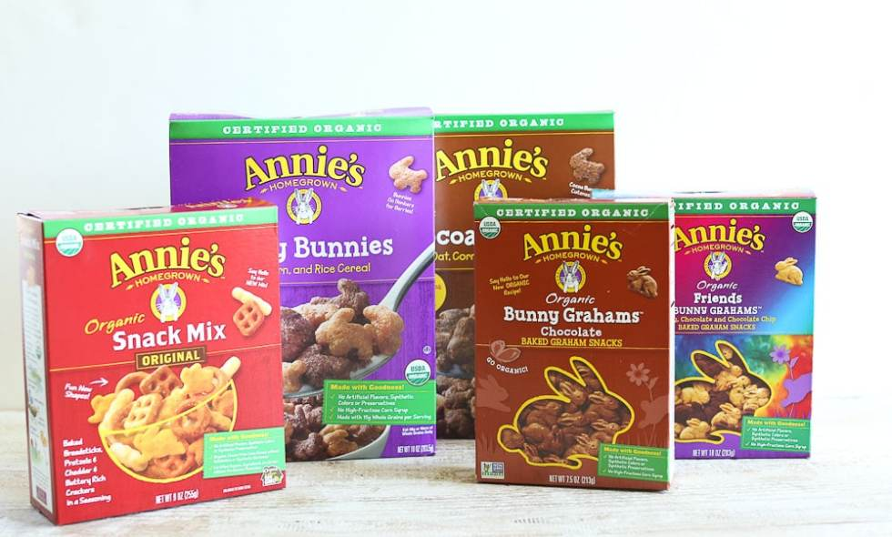Annie's Homegrown Organic products