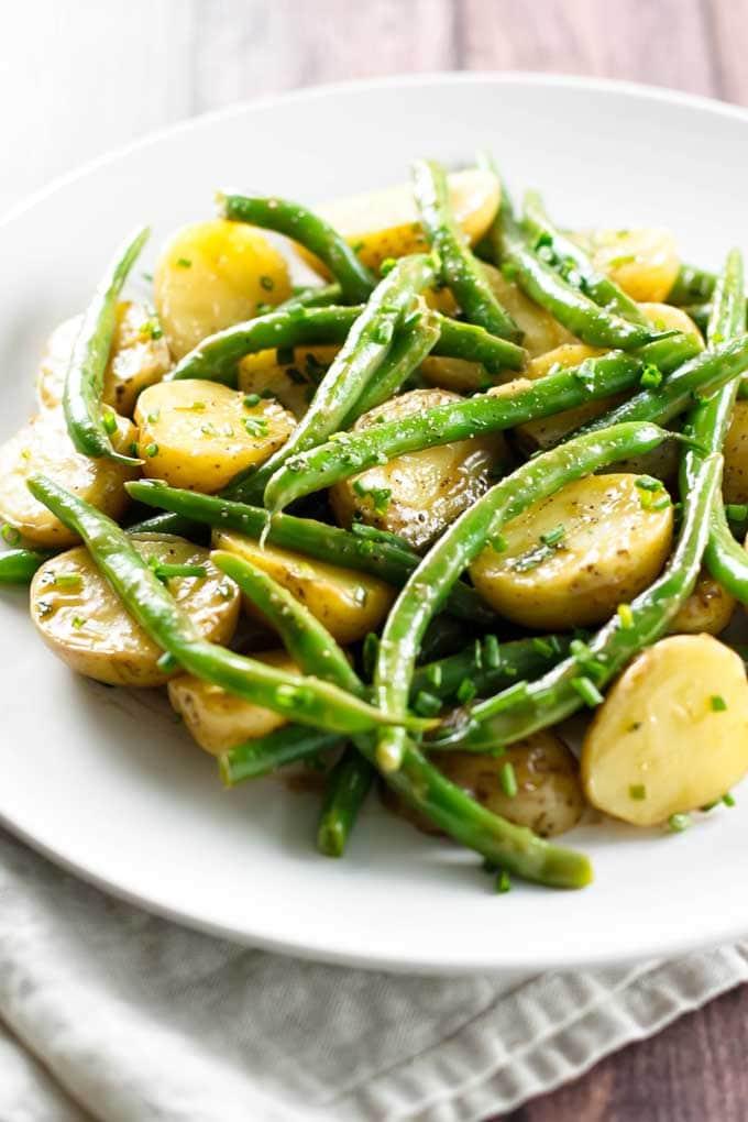 Green Bean Recipes -Green Bean Potato Salad