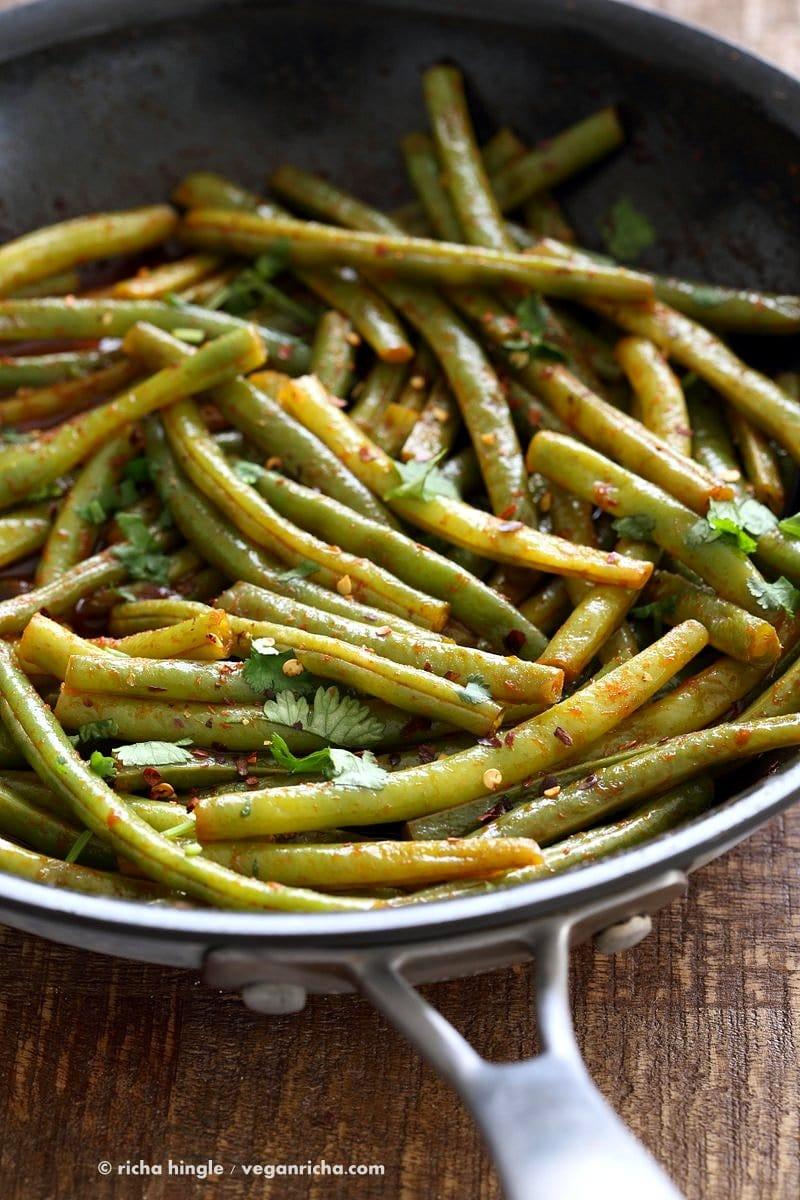 Green Bean Recipes--Red Curry Green Bean