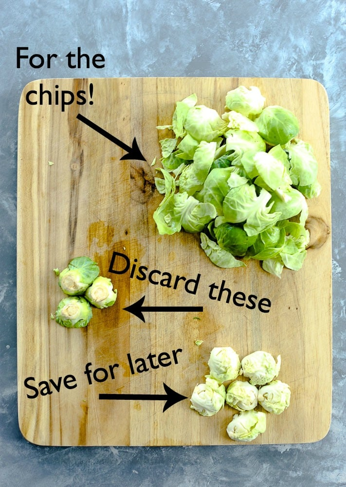 How to prepare Crispy Brussels Sprouts Chips