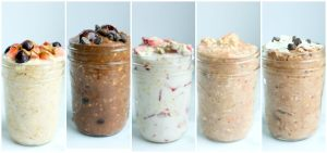 Overnight Oats Recipes 5 healthy overnight oats recipes in jars