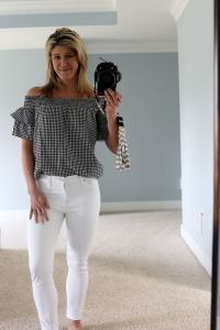 Stitch Fix Spring 2018 Laju Janero Ruffle Sleeve Cotton Top