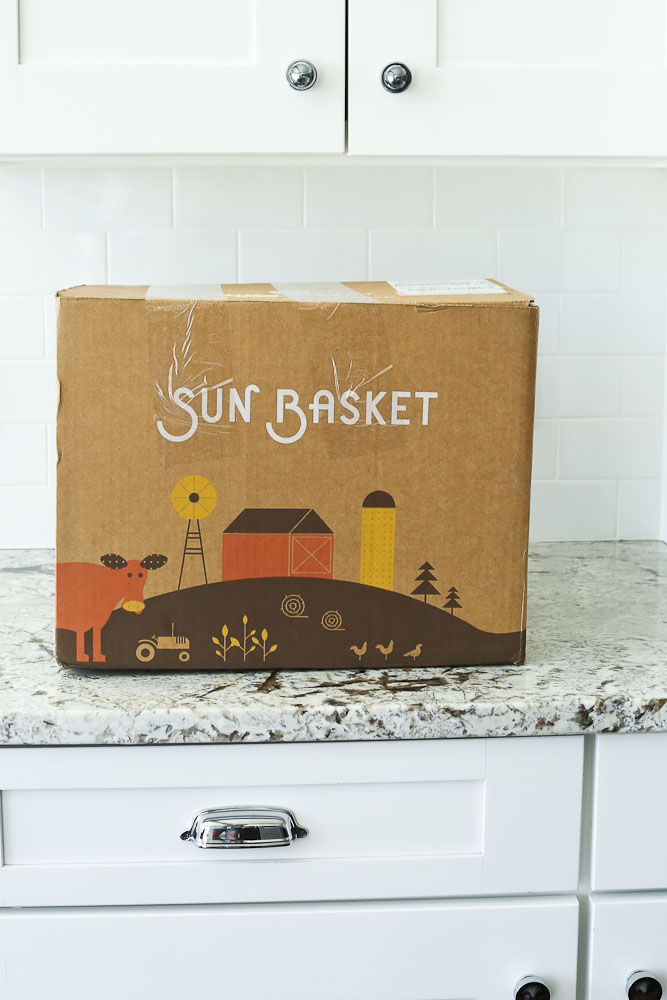 Sun Basket Review Healthy Meal Kit service in the box