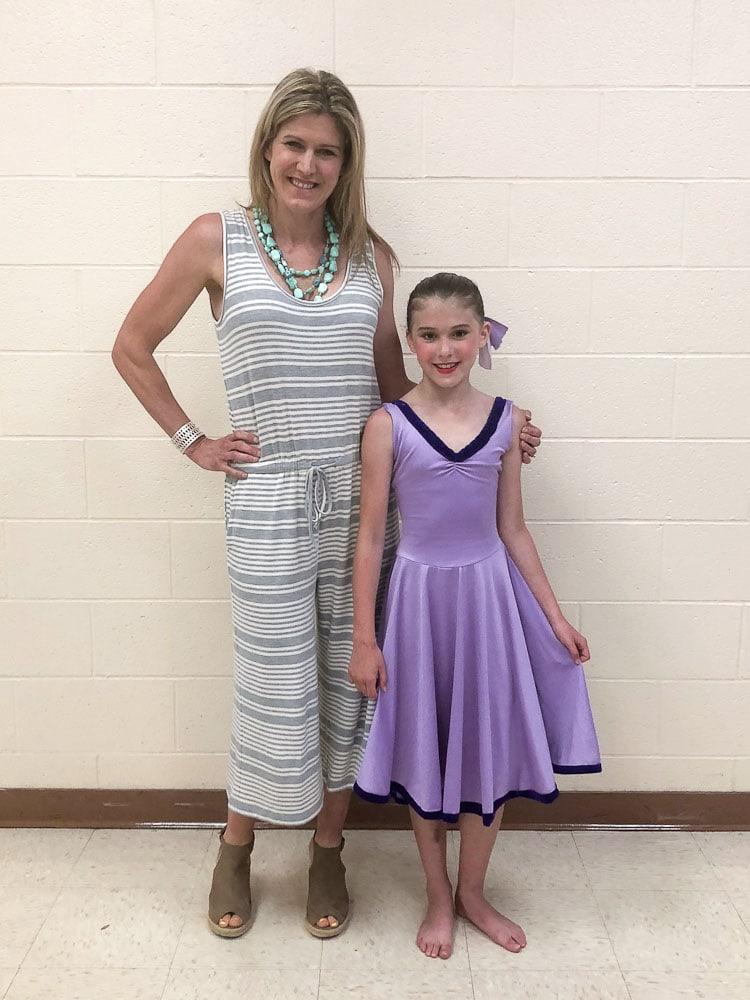 June Favorites-Meghan dance recital purple costume