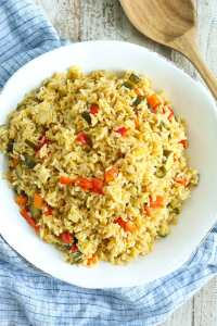 Perfect Rice Pilaf with Vegetables Recipe easy and delicious