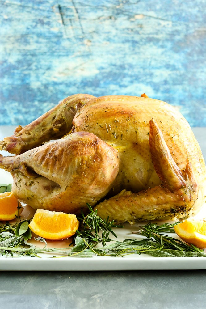 Foolproof Thanksgiving Turkey Recipe Happy Healthy Mama