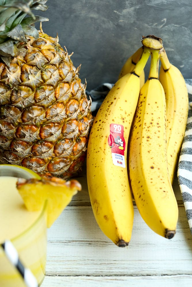Pineapple Smoothie Recipe with Banana