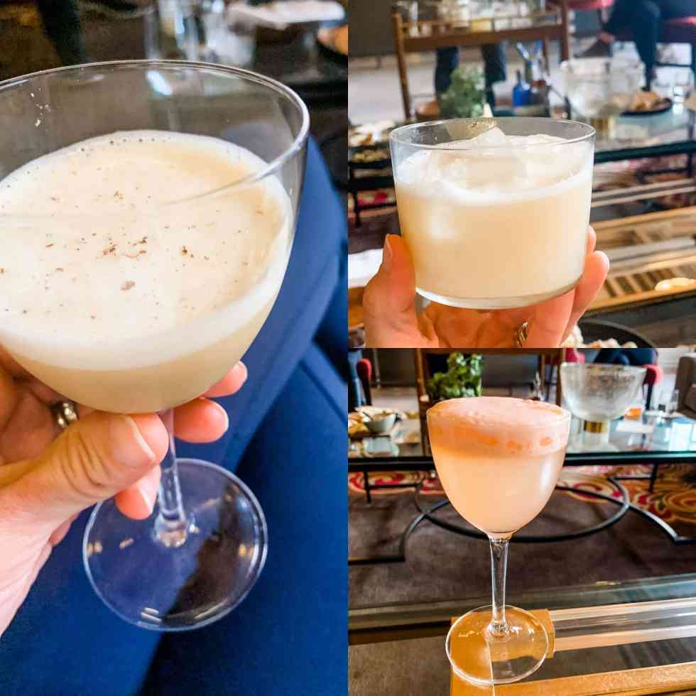 Using eggs in cocktails